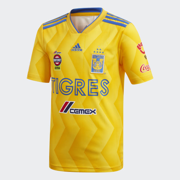 208c27b2bca41 Jersey de Local Tigres UANL COLLEGIATE GOLD BOLD GOLD BLUE CD6005