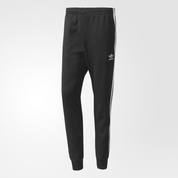 e932d7623587 adidas Men s SST Cuffed Track Pants - Black