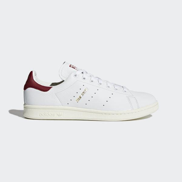 193326b79431 Stan Smith Shoes Cloud White   Cloud White   Collegiate Burgundy CQ2195
