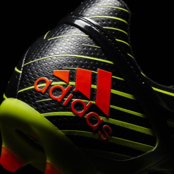 Botines Messi 15.1 suelo firme césped artificial SEMI SOLAR SLIME SOLAR RED  CORE 3fcde27e9d1f4