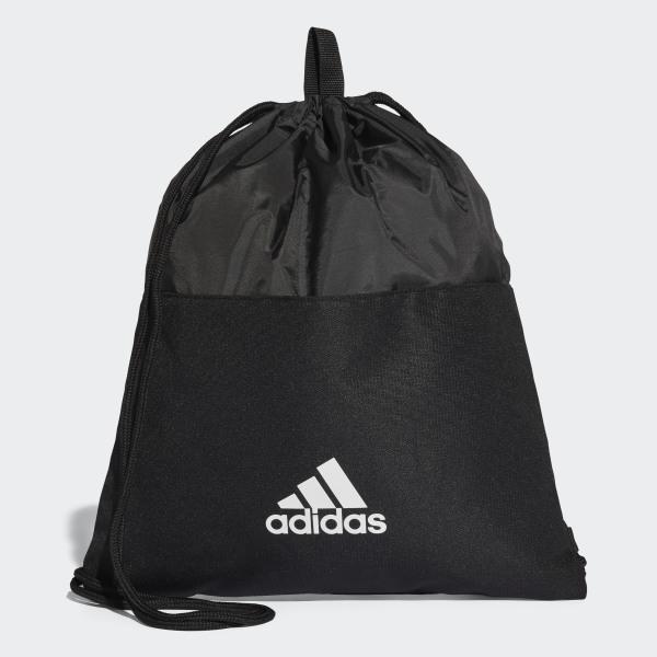 8e55fb945488 3-Stripes Gym Bag Black   White   White CF3286