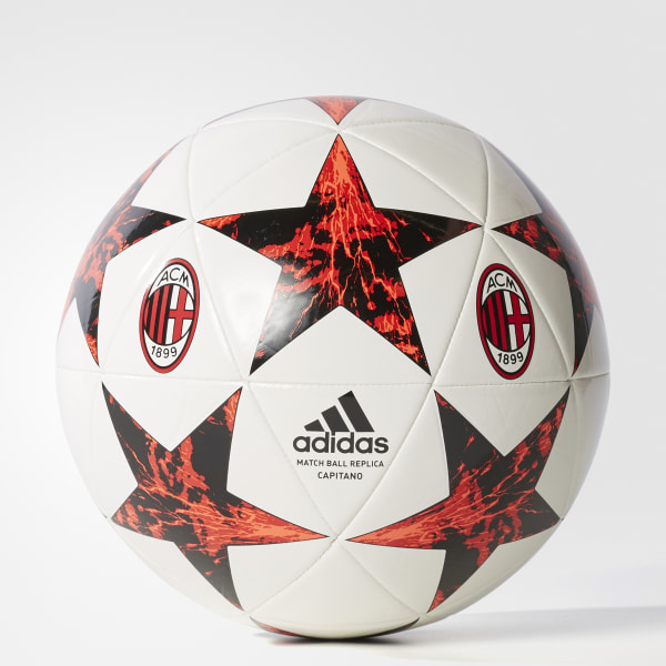 795a2dd592 Bola AC Milan Finale 17 WHITE SOLAR RED BLACK VICTORY RED S04 BS3459