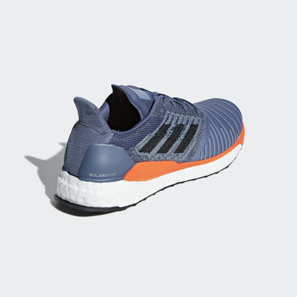 official photos 3f9a4 8afde SolarBoost Shoes Tech Ink  Grey Two  Hi-Res Orange CQ3169