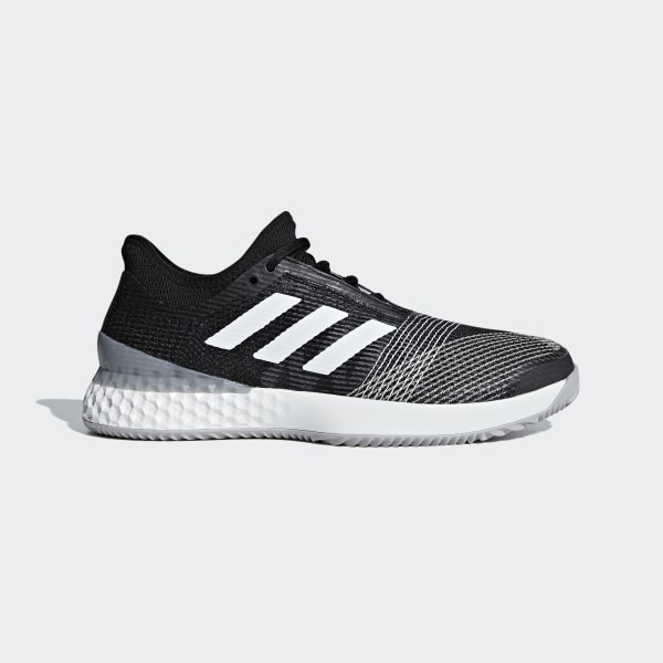 1f38ad9a6d413 Adizero Ubersonic 3.0 Clay Shoes Core Black   Ftwr White   Light Granite  CG6369