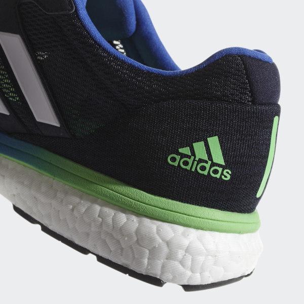 save off d3930 5a265 Adizero Boston 7 Shoes Legend Ink  Shock Lime  Hi-Res Blue BB6536