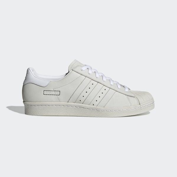 31e4a2f641a Tênis Superstar 80s ftwr white   ftwr white   raw white DB2685