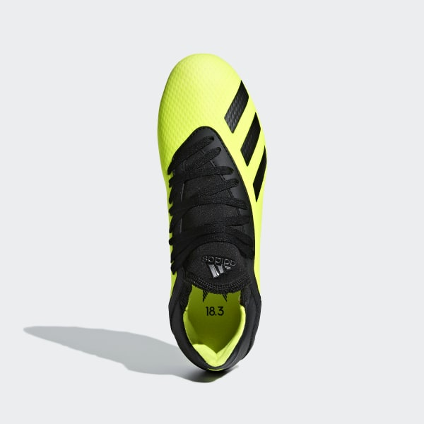 brand new 34c26 0e00f X 18.3 Artificial Grass Voetbalschoenen Solar Yellow  Core Black  Solar  Yellow CG7168