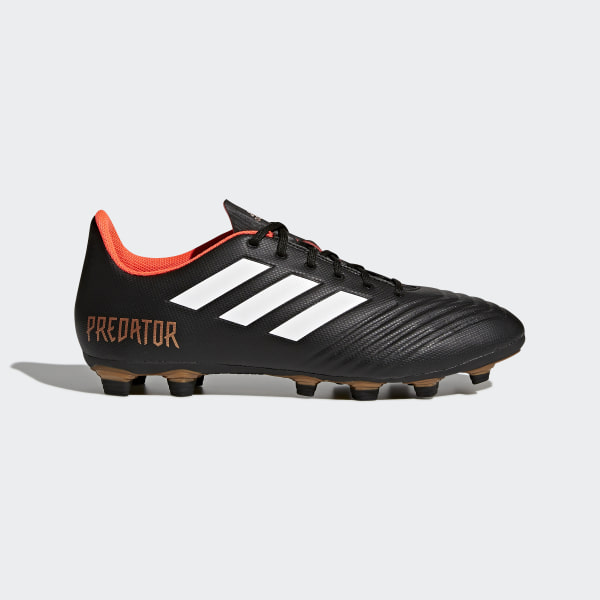 outlet store 2d771 88fa3 Zapatos de Fútbol PREDATOR 18.4 FxG CORE BLACK FTWR WHITE SOLAR RED CP9265