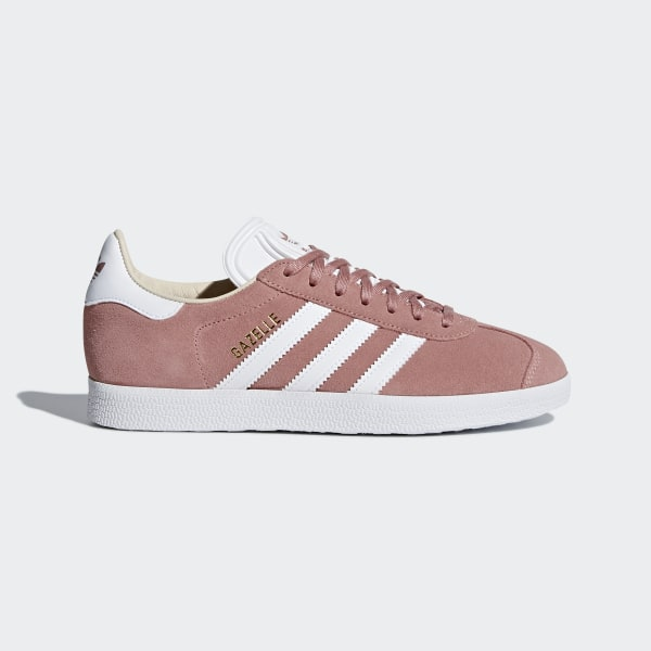 another chance e2a07 8a6b6 Gazelle Shoes Ash Pink  Cloud White  Linen CQ2186