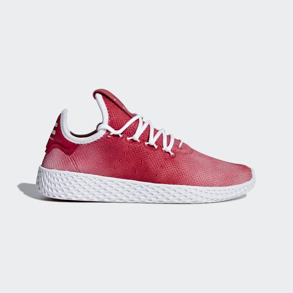 eda4cff254a61 Pharrell Williams Tennis Hu Shoes Scarlet   Ftwr White   Ftwr White CQ2301