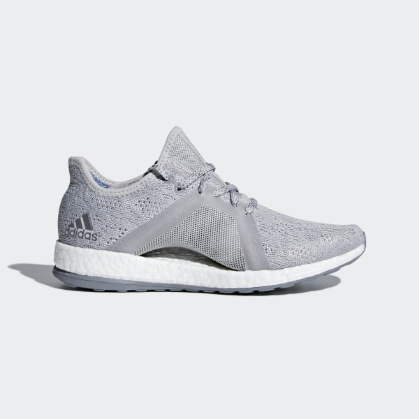 b36916bfd Pureboost X Element Shoes Grey Two   Grey Three   Blue BB6085