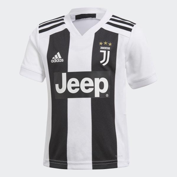9c8e28ff8daed Juventus Home Mini Kit White   Black CF3495