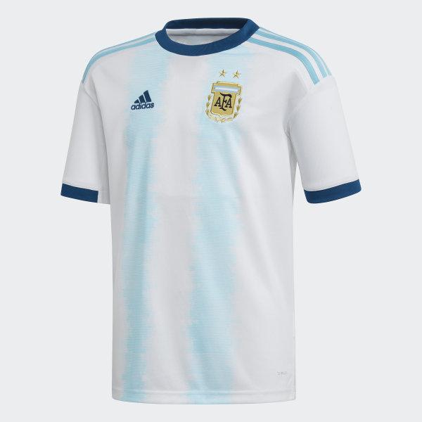 1220275fa7b8 Argentina Home Jersey White   Light Aqua DP2839