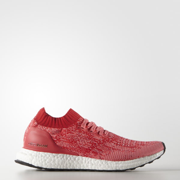 b4048947d431a ULTRABOOST Uncaged Shoes Ray Red   Shock Red   Ray Pink BB3903