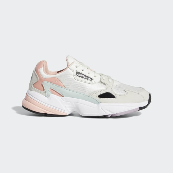 85fa7c1e8 Falcon Shoes Running White   Raw White   Trace Pink EE4149