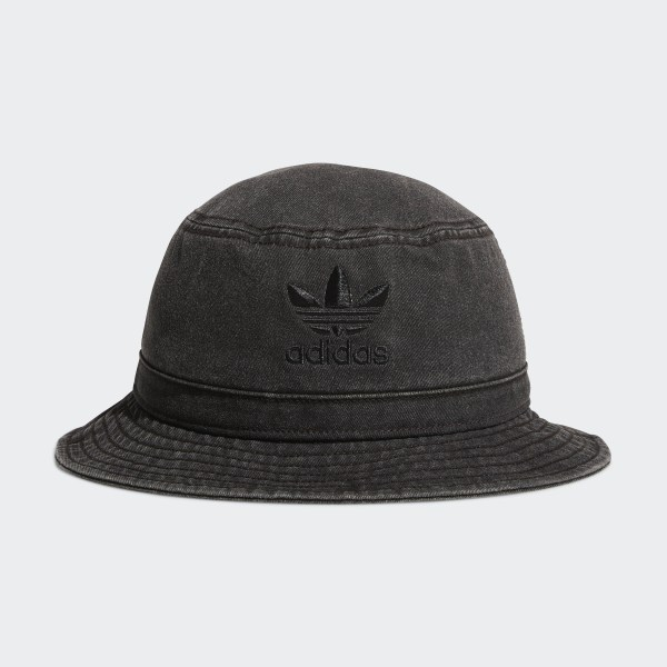 a250e0339a7 adidas Washed Bucket Hat - Black