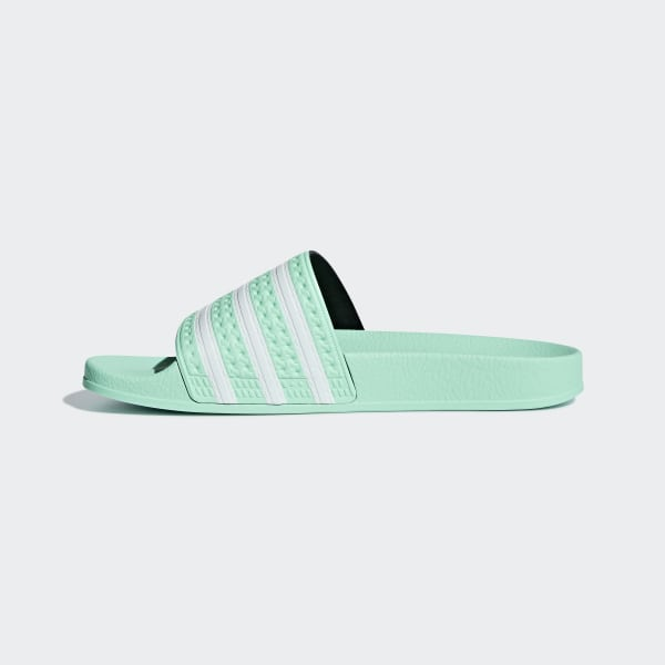 1fa449427 Adilette Slides Clear Mint   Clear Mint   Ftwr White CG6538