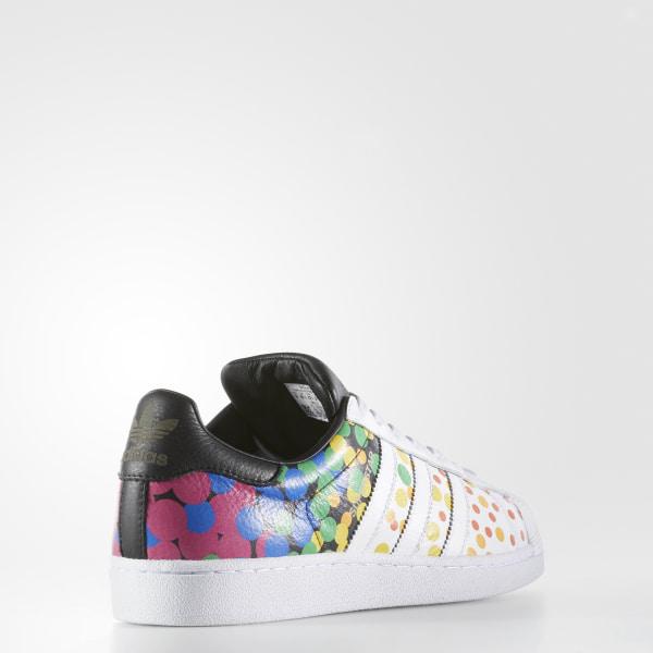 4d1a487c33a8 Pride Pack Superstar Shoes Cloud White   Core Black   Core Black CM7802