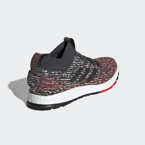 Pureboost RBL Shoes Carbon   Core Black   Active Red F35781 b87b76ded