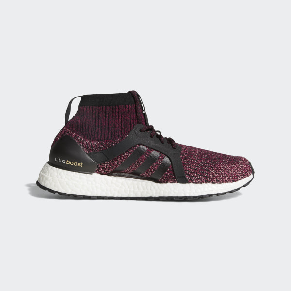 c374aab9aa2 UltraBOOST X ATR Shoes Mystery Ruby Core Black Trace Pink BY1678
