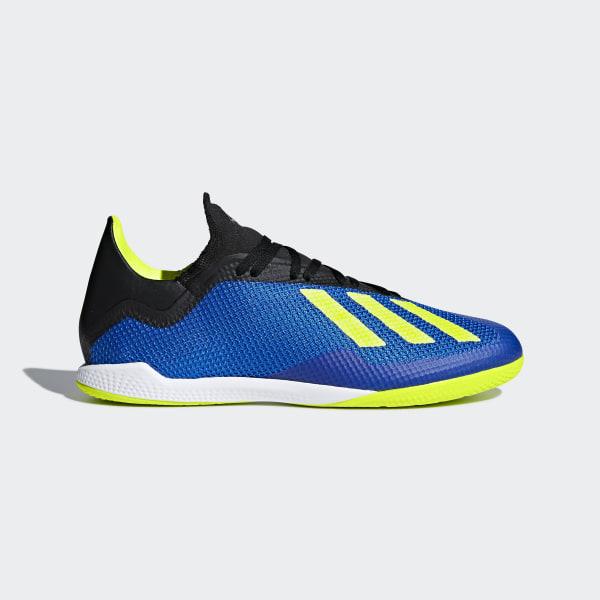 67898f48541 Chuteira X Tango 18.3 Futsal FOOTBALL BLUE SUPPLIER COLOR SOLAR YELLOW CORE  BLACK DB1954