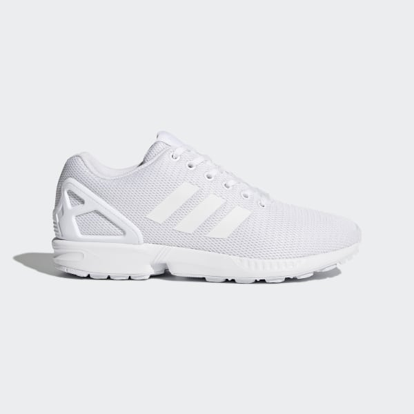 new style 604c6 a710a ZX Flux Shoes Footwear WhiteClear Grey S32277