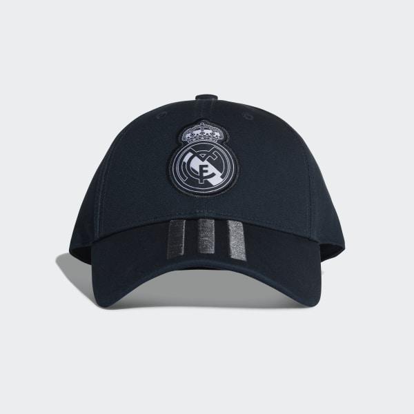 f85d4a7ab8d Real Madrid 3-Stripes Cap Tech Onix   Bold Onix   White CY5601