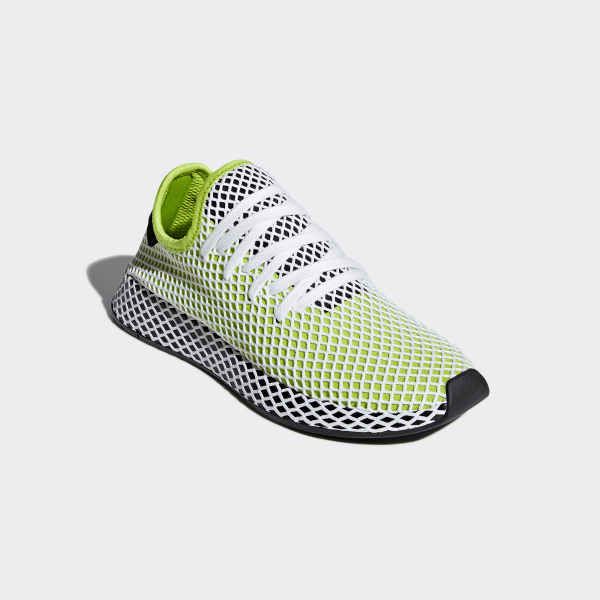 brand new df4db 8c63c Deerupt Runner Shoes Semi Solar Slime  Core Black  Core Black B27779