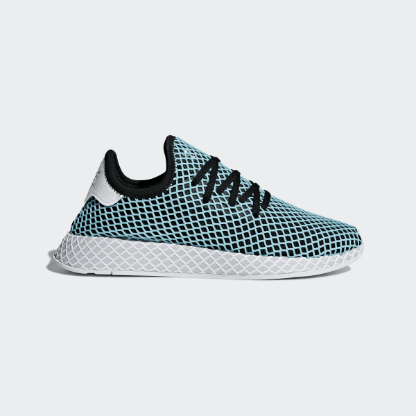 57e8c4bb2 Deerupt Runner Parley Shoes Core Black   Core Black   Blue Spirit CQ2623