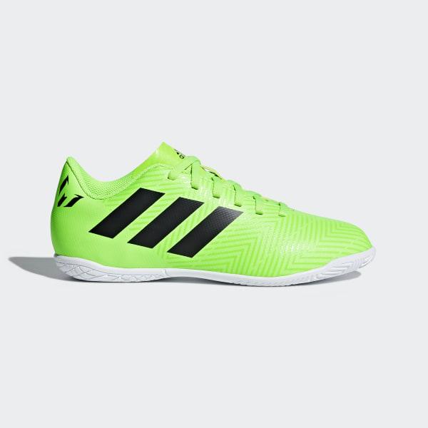 Chuteira Nemeziz Messi Tango 18.4 Futsal SOLAR GREEN CORE BLACK SOLAR GREEN  DB2399 17d20ff8d44ae