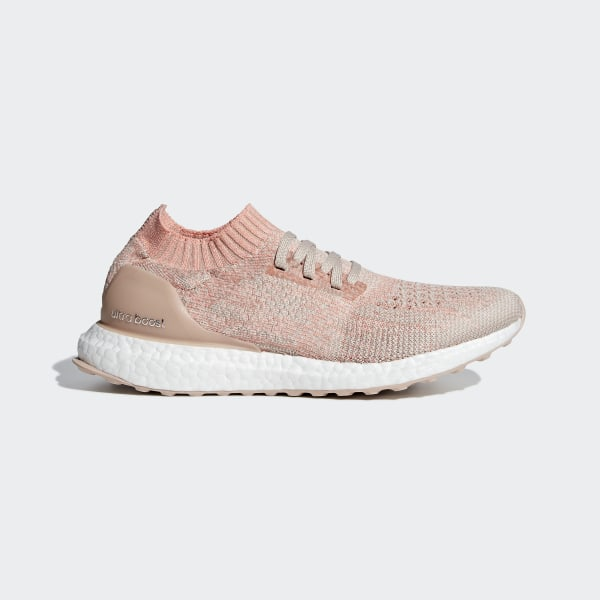275c70dcd0ef3 Ultraboost Uncaged Shoes Ash Pearl   Chalk Coral   Clear Orange BB6488