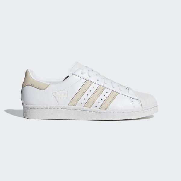 ce82f13bf8b Sapatos Superstar 80s Ftwr White   Ecru Tint   Crystal White CG7085