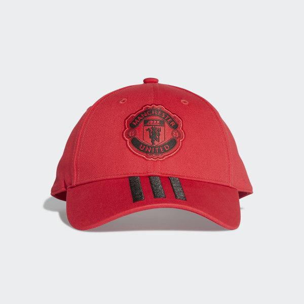 6b68fa0b333 adidas Manchester United Hat - Red