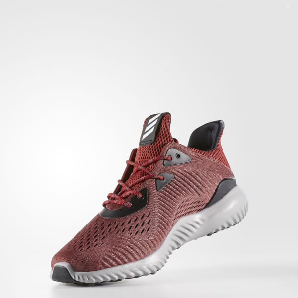 c1c06ee829586 Alphabounce Shoes Mystery Red   Cloud White   Core Black BB9045
