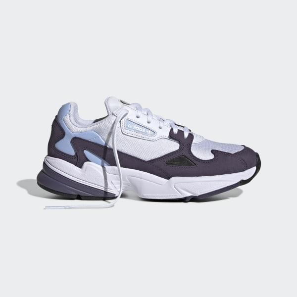 Falcon Shoes Trace Purple / Cloud White / Periwinkle EE9311