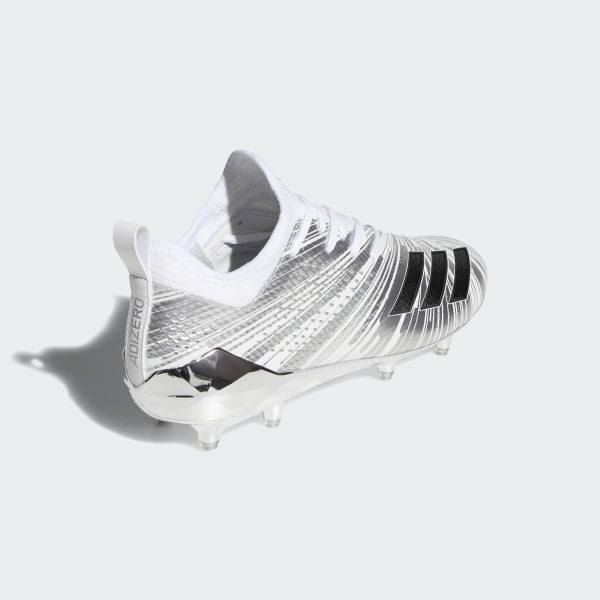 2739e474cb86f8 Adizero 5-Star 7.0 Metallic Cleats Silver Metallic   Core Black   Cloud  White CQ0347