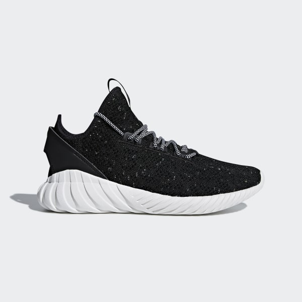 size 40 0dd4e 7a6bd Tubular Doom Sock Primeknit Shoes Core Black   Cloud White   Semi Frozen  Yellow CQ0940