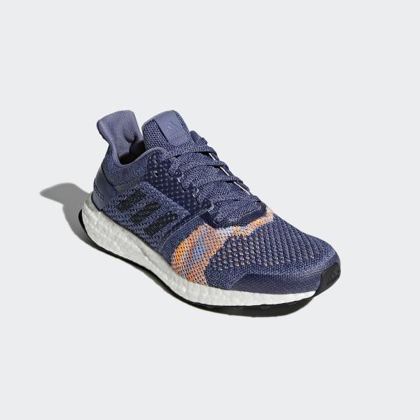 399acda0f55a9 Ultraboost ST Shoes Raw Indigo Noble Ink Hi-Res Orange CQ2133