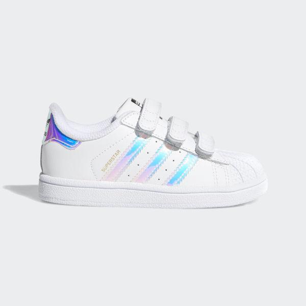 Superstar Shoes Cloud White   Cloud White   Metallic Silver AQ6280 d41644c88