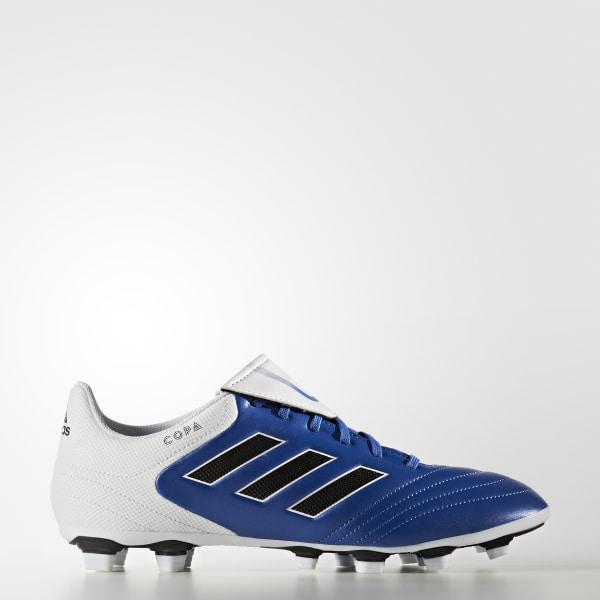 Zapatillas de Fútbol Copa 17.4 Terreno Flexible BLUE FTWR WHITE CORE BLACK  BA8525 f7a2af0d76ab0