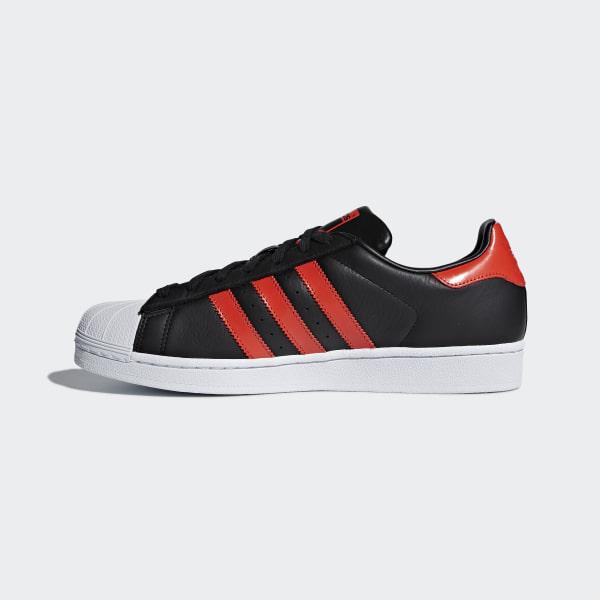 9b2fc69d701699 Superstar Shoes Core Black   Bold Orange   Cloud White B41994