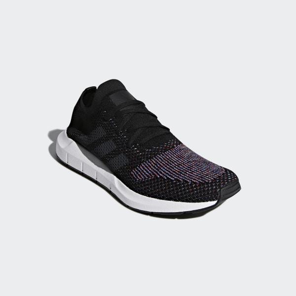 b10739f97f97 Swift Run Primeknit Shoes Core Black Grey Five Medium Grey Heather CQ2894