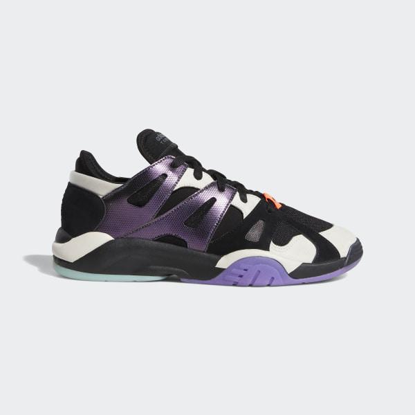 quality design a1b3d 0a7a4 Dimension Low Top Shoes Core Black  Raw White  Active Purple BC0623