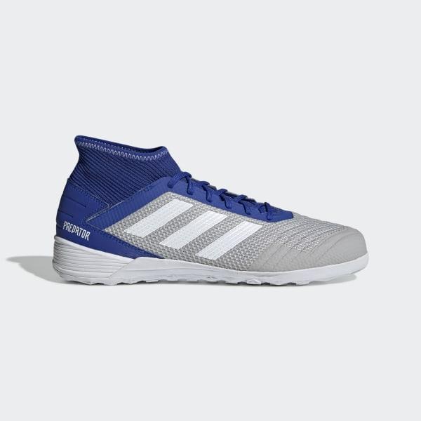 best website ece74 a9165 Scarpe da calcio Predator Tango 19.3 Indoor Grey Two   Ftwr White   Bold  Blue D97963