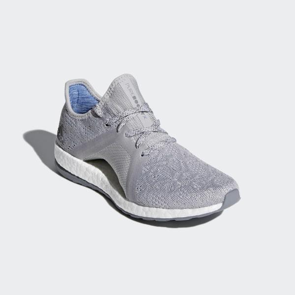 9725b83ac34f2 Pureboost X Element Shoes Grey Two   Grey Three   Blue BB6085