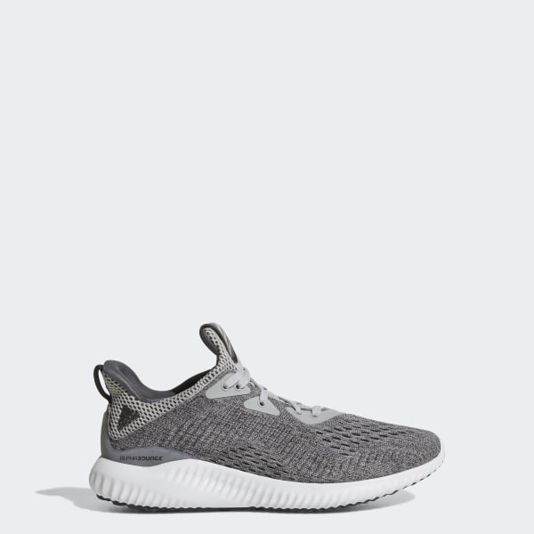 6a8b4e4e8824a Alphabounce EM Shoes Grey   Grey Two   Cloud White BY3423