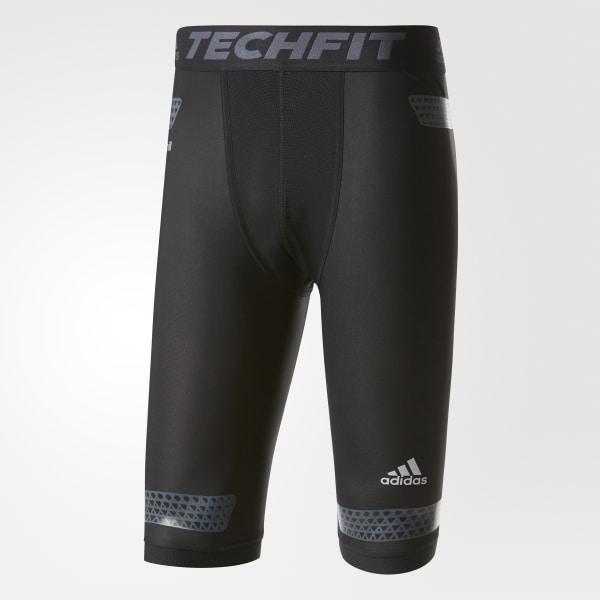Bermuda Techfit Power Masculina - Preto adidas  7edebcbb961b5