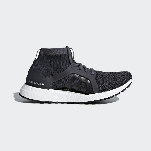 6516741c86574 Ultraboost X All Terrain Shoes Carbon   Carbon   Core Black BY8925