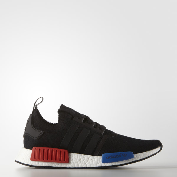 7c21acff2 Men s NMD R1 Primeknit Shoes Core Black Core Black Lush Red S16-St S79168