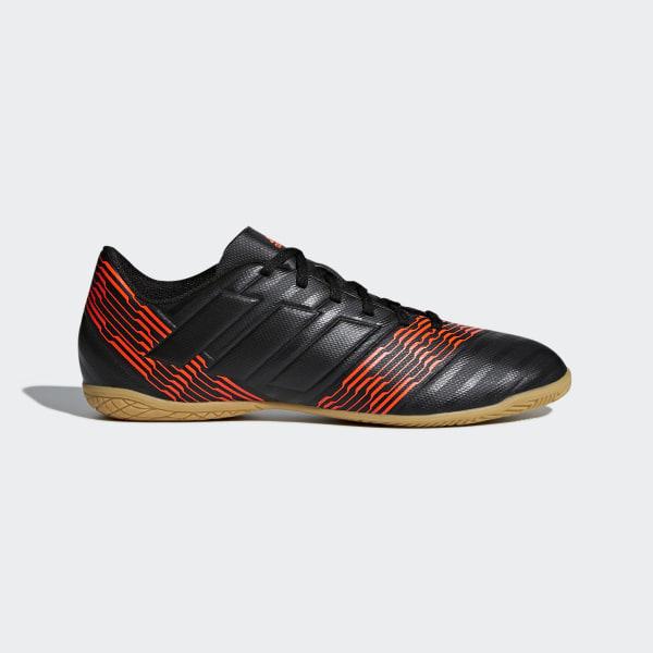 Chuteira Nemeziz 17.4 Futsal CORE BLACK CORE BLACK SOLAR RED CP9085 7ac9ba62f02c1